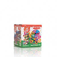 """Настольная развивающая игра для детей от 4 лет """"44 Cats. Мяу-лэнд"""" VT8022-08 (укр)"""