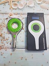 Лейка душевая Rainshower Icon зеленая хром 2