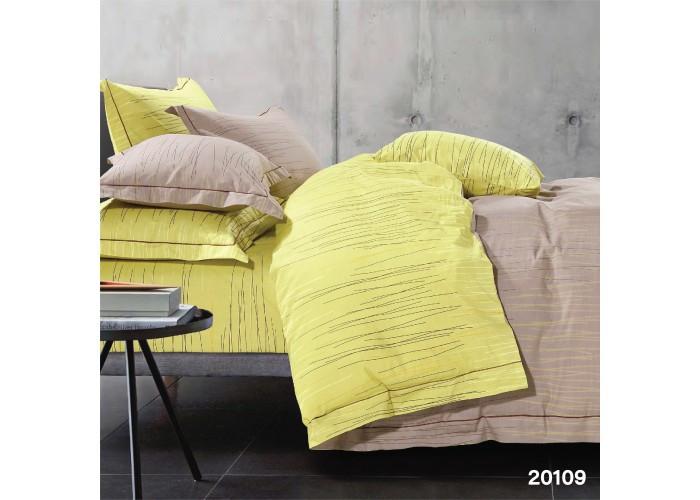 Комплект постільної білизни двоспальний ранфорс 20109