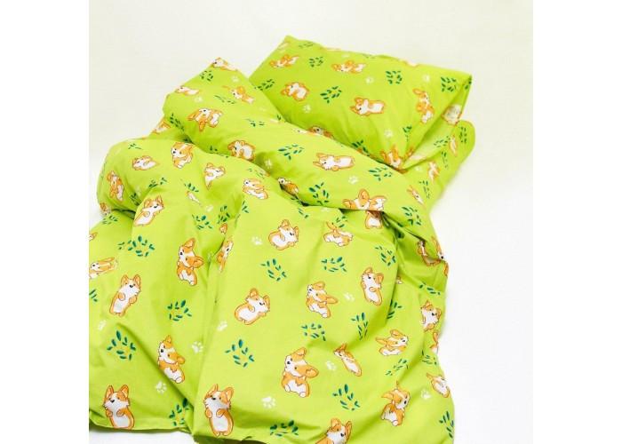 Комплект постельного белья детский Вилюта Ранфорс 20122 зеленый