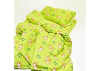 Комплект постельного белья детский Вилюта Ранфорс 20122 зеленый, фото 1