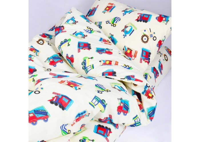 Комплект постільної білизни Вилюта дитячий ранфорс 20123 червоний