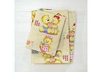 Комплект постільної білизни Вилюта дитячий ранфорс 4457 жовтий