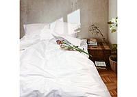 Комплект постільної білизни двоспальний ранфорс Білий, фото 1