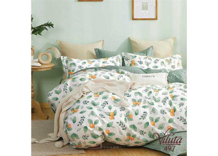 Комплект постельного белья двухспальный Вилюта Сатин Twill 497