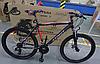 ⭐✅ Гірський Велосипед Azimut Spark 29 D+ (21 рама) ЧОРНО-СИНІЙ, фото 5