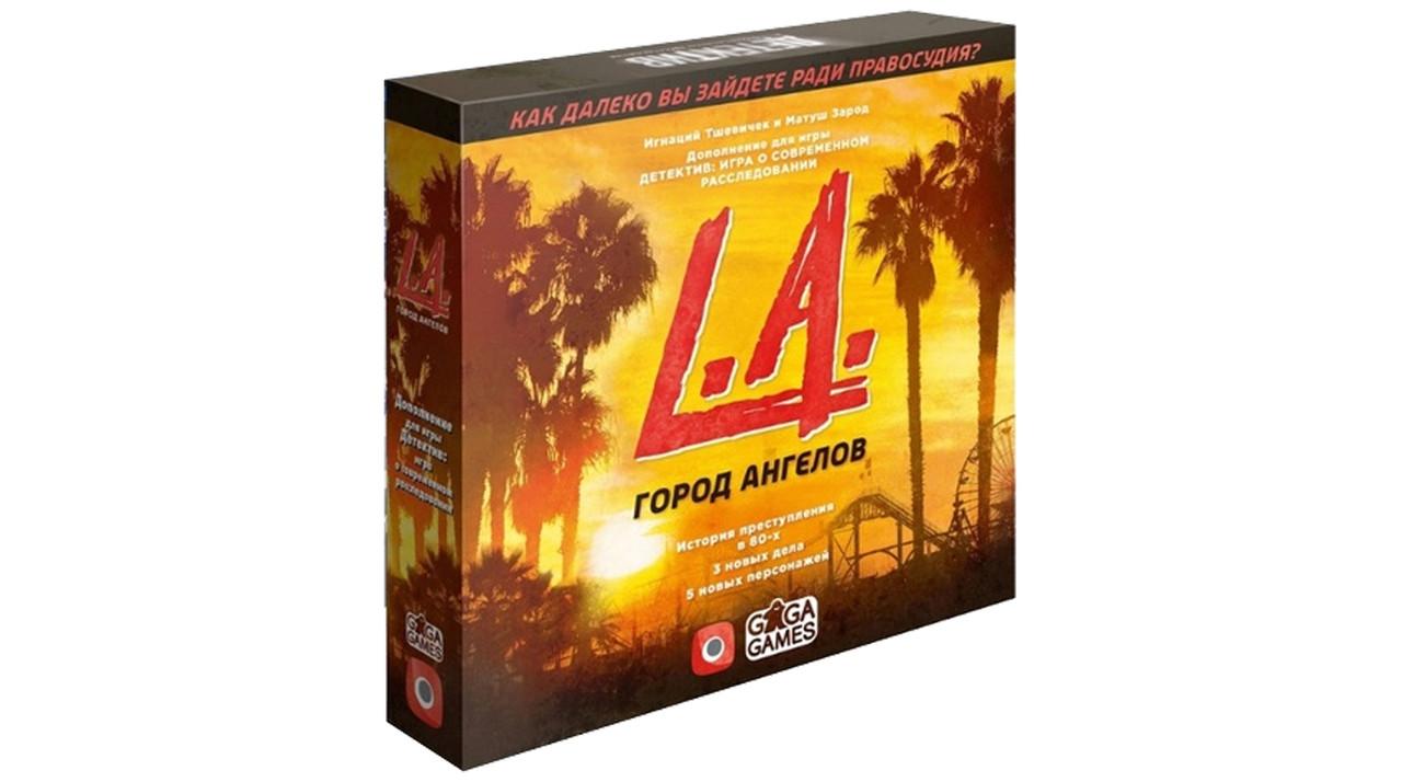 Настольная игра Детектив: L.A. Город ангелов (дополнение)