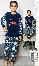 Піжама для хлопчика велсофт 1301