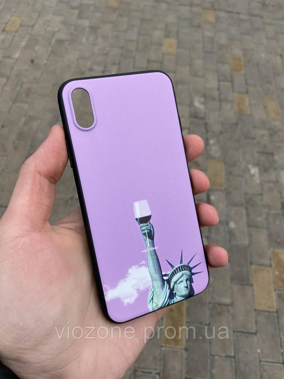 Силиконовый Чехол Бампер для iPhone X / Xs