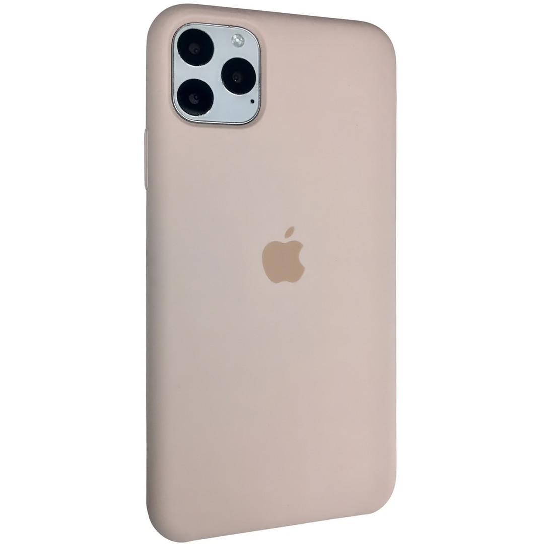 Силиконовый чехол Silicone case для Apple iPhone 11 Pro Max | Pink Sand | DK
