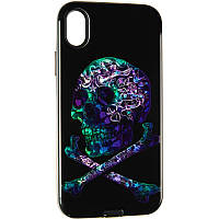 Print Case for iPhone XR Skull, фото 1