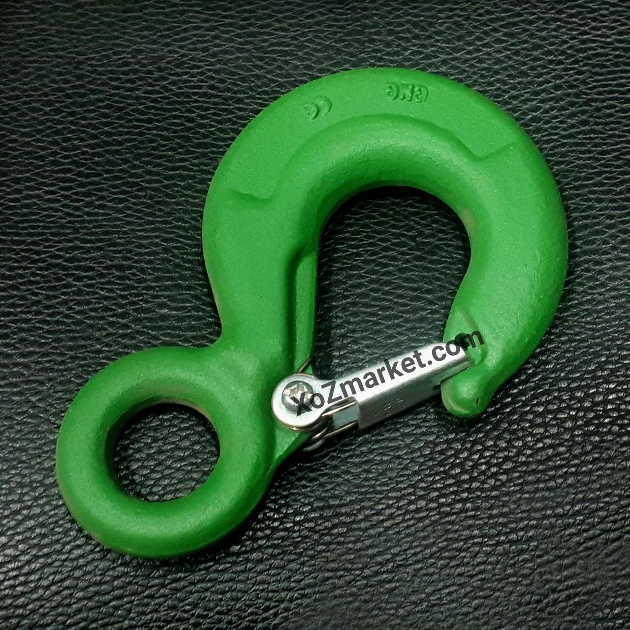 Крюк для строп с замком 1.25 т ➡️ Грузовой строповый крюк 1250 кг
