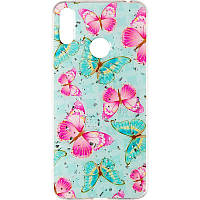 Deep Shine Flowers Case for iPhone 8 Plus Butterfly, фото 1