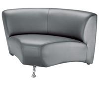 Офисный диван Каролина угловой модуль кожзам Неаполь