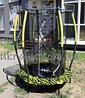 Батут детский EXIT Tiggy 140 см зелёный с внутренней сеткой, фото 9
