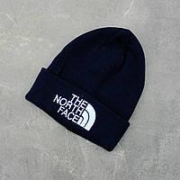 "Стильна чоловіча зимова шапка молодіжна ""NORTH FACE """
