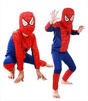 Костюм человека паука, спайдермена. Детский карнавальный костюм Spider man