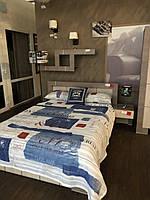 Модерн - кровать 1.4 (спинка царги и основание)