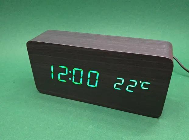 Часы настольные 862 S green