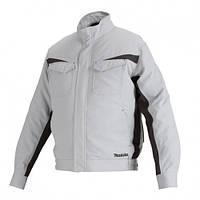 Аккумуляторная куртка с вентиляцией Makita LXT/CXT, 10,8-18В (L) DFJ213ZL