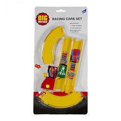 Игровой детский набор игрушечный мини автотрек «Кольцевые гонки» 2568