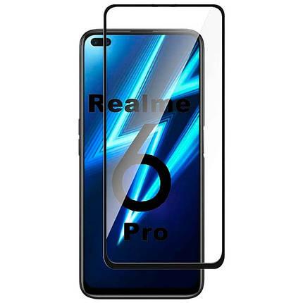 Захисне скло Full screen PowerPlant для Realme 6 Pro, фото 2