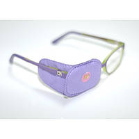 Окклюдер цветной тканевый для детских очков - текстиль Код - 750