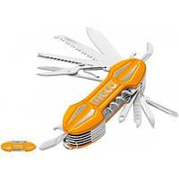 Нож мультифункциональный 15-в-1 9.5 см INGCO