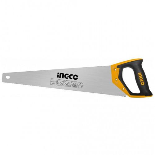 Ножівка по дереву 500 мм 7 з/д INGCO