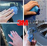 180 гр Синяя голубая Глина clay bar для очистки кузова авто 3М, Sonax, Meguia, Soft99, фото 8