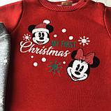 Теплый новогодний костюм на мальчика и девочку 59 Размер 68 см, 74 см, 80 см, 86 см, фото 2