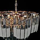 Люстра хрустальная в золоте на 8 лампочек 3-E1841/8, фото 3