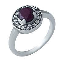 Серебряное кольцо DreamJewelry с натуральным рубином (0404295)