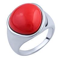 Серебряное кольцо DreamJewelry с кораллом (1803141) 16.5 размер, фото 1