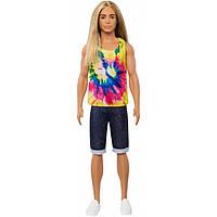 """Кукла Кен """"Модник"""" с длинными волосами Barbie GHW66"""