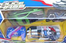 Машинка 2шт на радио пульте управления полиция черная и зелёная Chevrolet, фото 3