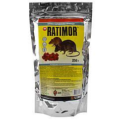 Брикеты от крыс и мышей Ratimor 250 г Vag Group