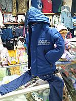 Зимняя Куртка пуховик для мальчика р.104-146