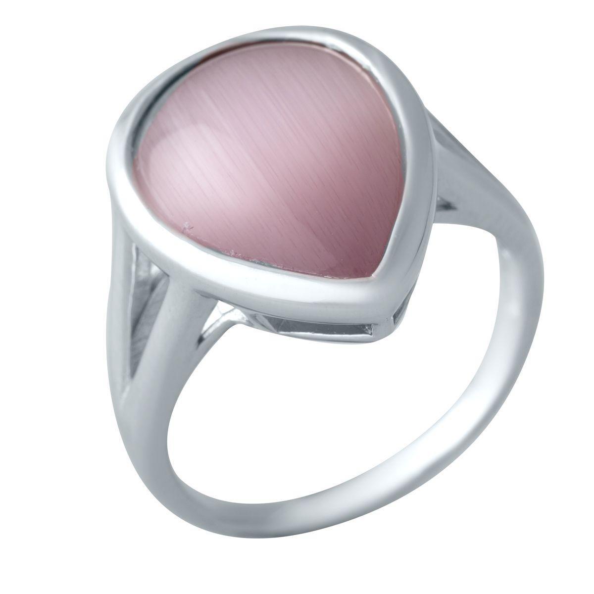 Серебряное кольцо DreamJewelry с кошачим глазом (2015956) 17 размер