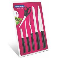 Набор ножей Tramontina Athus 6 шт Black (23099/090)