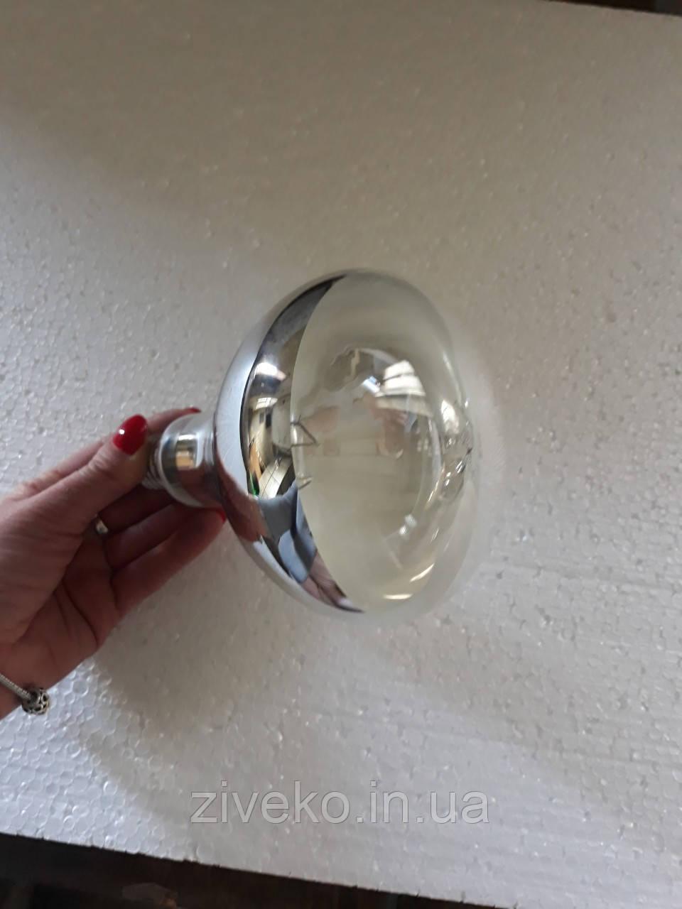 Лампа інфрачервона Lux Light IR R125  біла 250 Вт