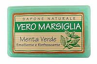 Натуральное мыло Настоящий Марсель - Зелёная мята - 150 гр., фото 1