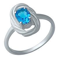 Серебряное кольцо DreamJewelry с аквамарином nano (1932568) 18 размер