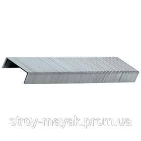 Скобы для мебельного степлера 6 - 14 мм, тип 53, 1000 шт, MTX