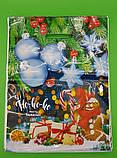 """Пакет прорезной  ламинированый  """"Рождество"""" ( 30*40) (50 шт), фото 3"""