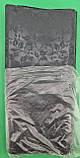 """Пакет с петлевой ручкой ср черный """"Листья матовые1(38х42) ДПА (50 шт), фото 3"""