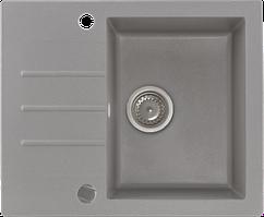 Кухонна мийка KERNAU KGS A 4560 1B1D GREY METALLIC