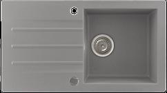 Кухонна мийка KERNAU KGS A 50 1B1D GREY METALLIC