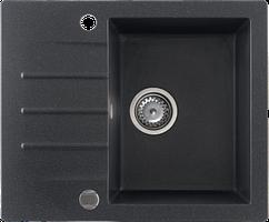 Кухонна мийка KERNAU KGS A 4560 1B1D BLACK METALLIC