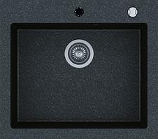 Кухонна мийка KERNAU KGS H 60 1B BLACK METALLIC